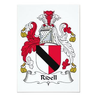 Escudo de la familia de Ridell Anuncio