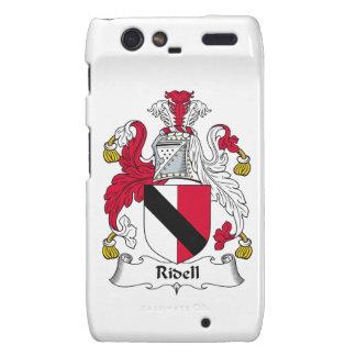 Escudo de la familia de Ridell Motorola Droid RAZR Carcasas