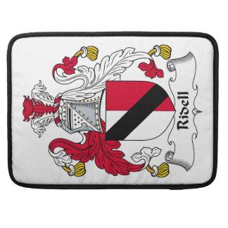 Escudo de la familia de Ridell Fundas Para Macbook Pro