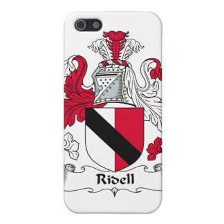 Escudo de la familia de Ridell iPhone 5 Carcasas