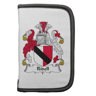 Escudo de la familia de Ridell Organizadores