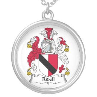 Escudo de la familia de Ridell Pendiente