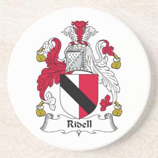 Escudo de la familia de Ridell Posavasos Diseño
