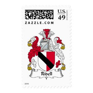 Escudo de la familia de Ridell Sellos