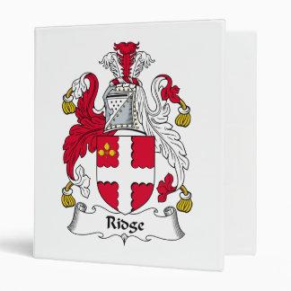 Escudo de la familia de Ridge
