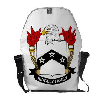 Escudo de la familia de Ridgely Bolsas Messenger