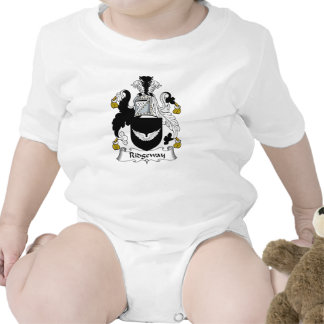 Escudo de la familia de Ridgeway Camisetas
