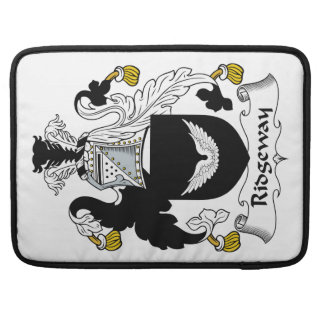 Escudo de la familia de Ridgeway Funda Macbook Pro