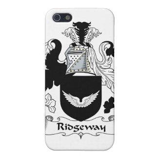 Escudo de la familia de Ridgeway iPhone 5 Carcasas