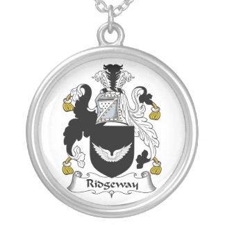 Escudo de la familia de Ridgeway Joyería