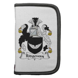 Escudo de la familia de Ridgeway Organizadores