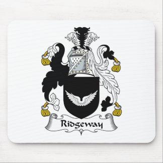 Escudo de la familia de Ridgeway Tapete De Ratones