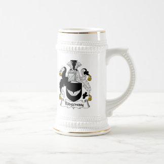 Escudo de la familia de Ridgeway Tazas De Café