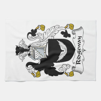 Escudo de la familia de Ridgeway Toallas De Mano