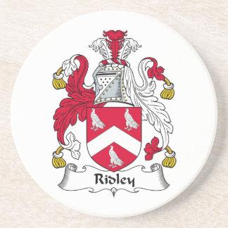 Escudo de la familia de Ridley Posavasos Diseño