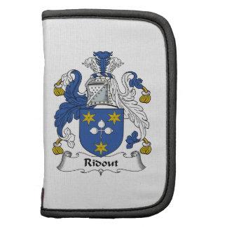 Escudo de la familia de Ridout Organizadores