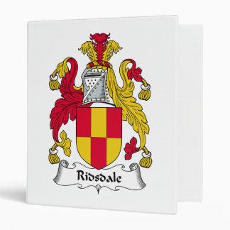 Escudo de la familia de Ridsdale