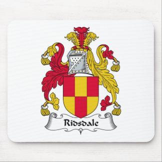 Escudo de la familia de Ridsdale Alfombrilla De Ratones
