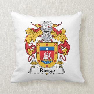 Escudo de la familia de Riesgo Cojin