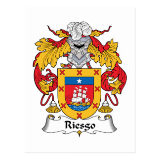 Escudo de la familia de Riesgo Postales