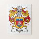 Escudo de la familia de Riesgo Puzzle