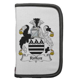 Escudo de la familia de Riffett Planificador