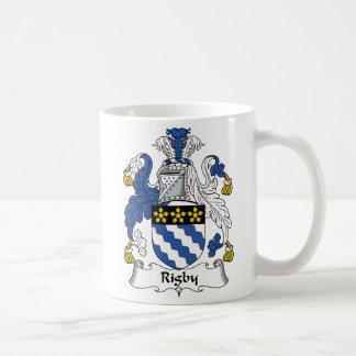 Escudo de la familia de Rigby Taza De Café