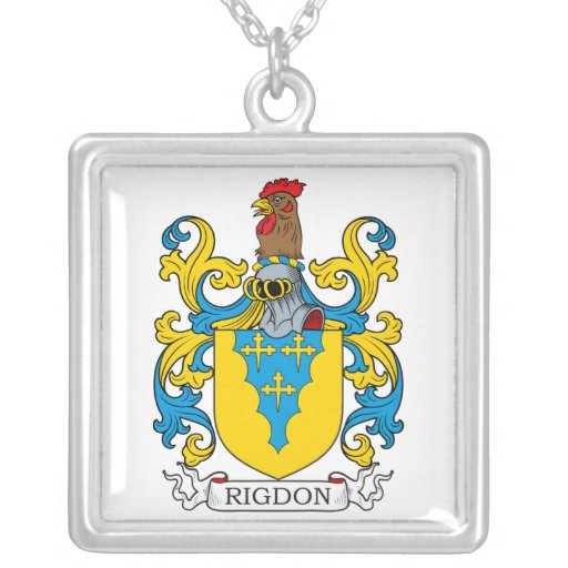 Escudo de la familia de Rigdon Joyeria