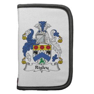 Escudo de la familia de Rigley Planificador