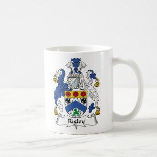 Escudo de la familia de Rigley Tazas