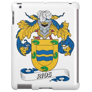 Escudo de la familia de Rios Funda Para iPad