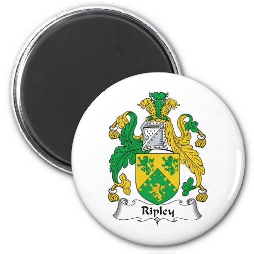 Escudo de la familia de Ripley Iman Para Frigorífico