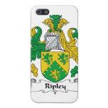 Escudo de la familia de Ripley iPhone 5 Carcasas