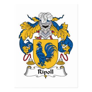 Escudo de la familia de Ripoll Postales