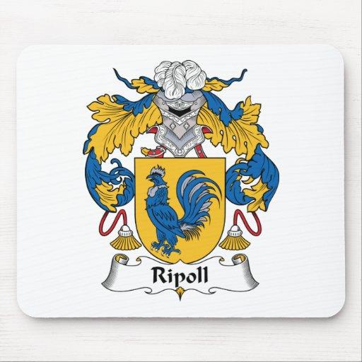 Escudo de la familia de Ripoll Alfombrillas De Ratones
