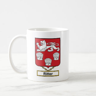 Escudo de la familia de Ritter Taza Clásica
