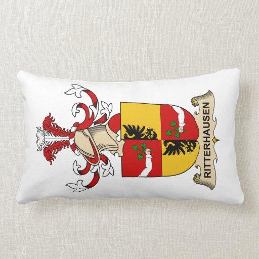 Escudo de la familia de Rittershausen Cojín