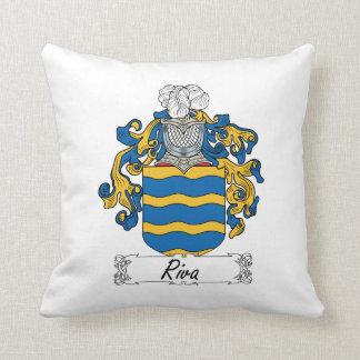 Escudo de la familia de Riva Almohada