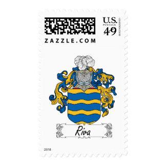 Escudo de la familia de Riva Franqueo