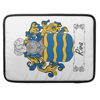 Escudo de la familia de Riva Funda Para Macbooks