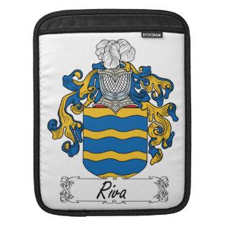 Escudo de la familia de Riva Fundas Para iPads