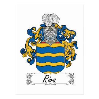 Escudo de la familia de Riva Postal