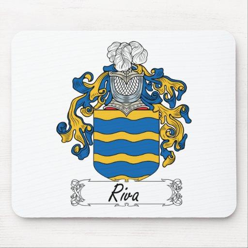 Escudo de la familia de Riva Alfombrillas De Ratones