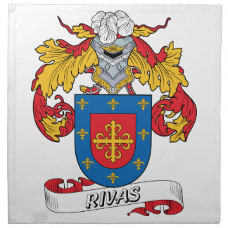 Escudo de la familia de Rivas Servilletas
