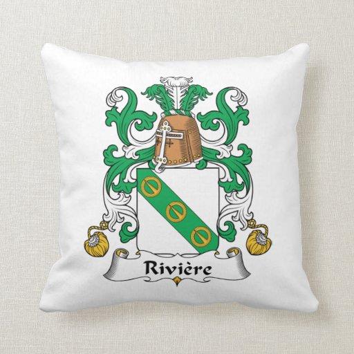 Escudo de la familia de Riviere Almohada