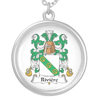 Escudo de la familia de Riviere Colgante