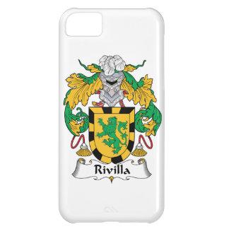 Escudo de la familia de Rivilla Funda Para iPhone 5C