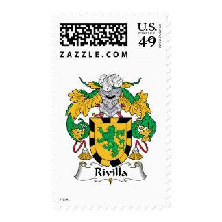 Escudo de la familia de Rivilla Envio