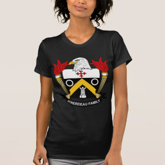 Escudo de la familia de Roberdeau Tee Shirt
