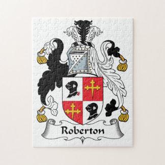 Escudo de la familia de Roberton Puzzles